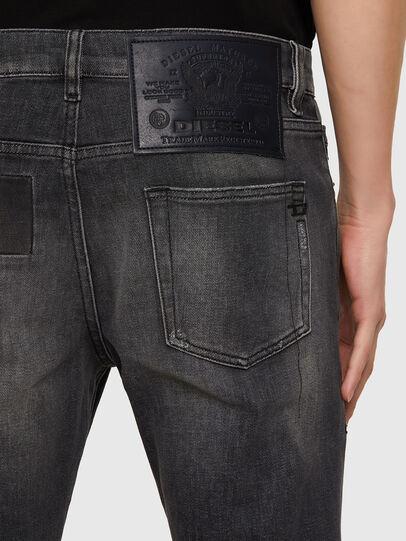Diesel - D-Strukt 009MZ, Noir/Gris foncé - Jeans - Image 3