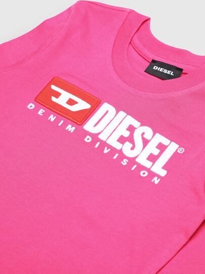 Diesel - TJUSTDIVISIONB ML-R, Rose - T-shirts et Hauts - Image 3