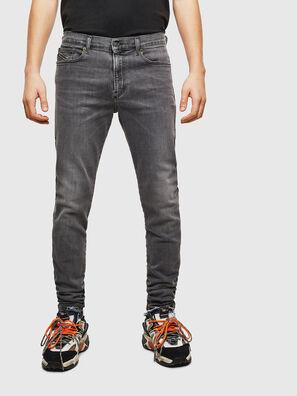 D-Amny 009AJ, Noir/Gris foncé - Jeans