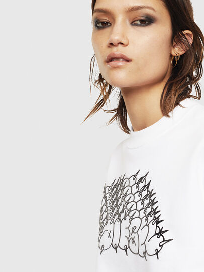 Diesel - F-ANG-S2, Blanc - Pull Cotton - Image 3