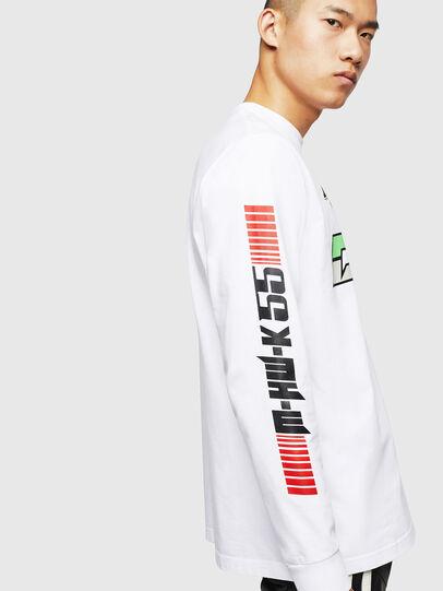 Diesel - ASTARS-T-JUST-LONG, Blanc - T-Shirts - Image 5