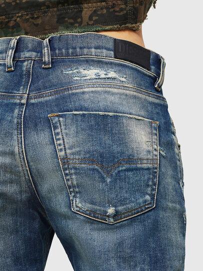 Diesel - Krailey JoggJeans 0870Q, Bleu moyen - Jeans - Image 5
