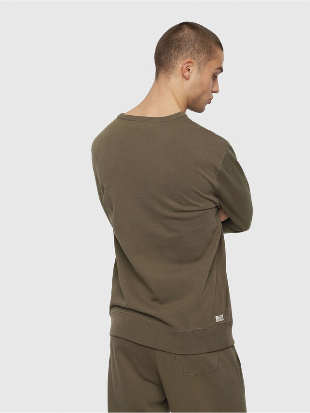 Diesel - UMLT-WILLY, Vert Militaire - Pull Cotton - Image 2
