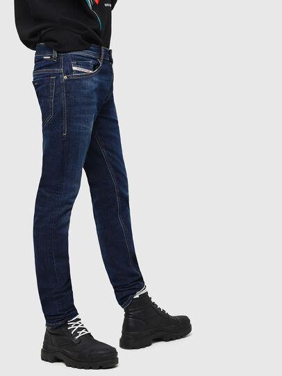 Diesel - Thommer 082AY, Bleu Foncé - Jeans - Image 5