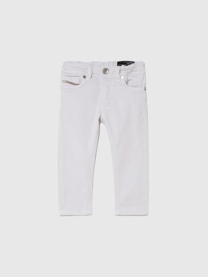 Diesel - SLEENKER-B JOGGJEANS-N, Blanc - Jeans - Image 1