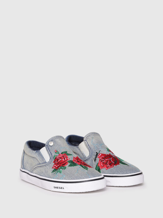 Diesel - SLIP ON 14 ROSE CH, Gris - Footwear - Image 2
