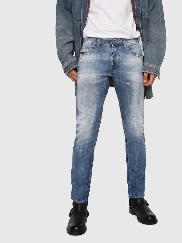 Diesel - Thommer 081AS, Bleu moyen - Jeans - Image 1
