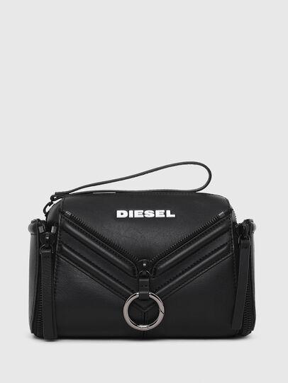 Diesel - LE-ZIPPER CROSSBODY, Noir - Sacs en bandoulière - Image 1