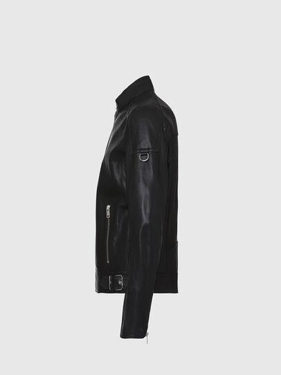 Diesel - L-CODY, Noir - Vestes de cuir - Image 3