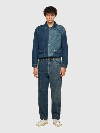 Diesel - D-FRAN-SP, Bleu moyen - Pantalons - Image 5