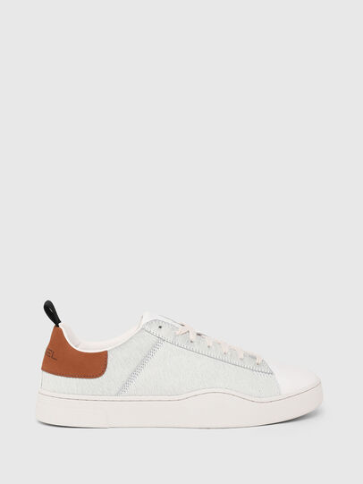 Diesel - S-CLEVER LOW LACE, Blanc/Brun - Baskets - Image 1