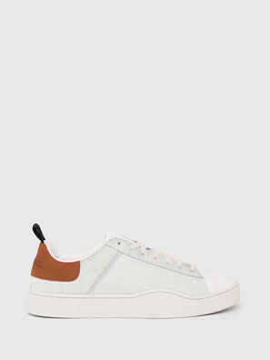 S-CLEVER LOW LACE, Blanc/Brun - Baskets