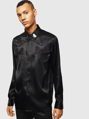 S-VEL, Noir - Chemises