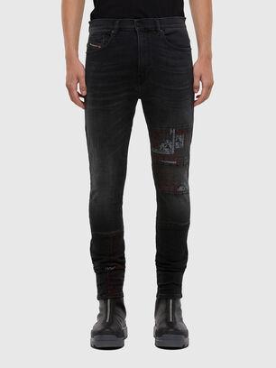 D-Amny 009KS, Noir/Gris foncé - Jeans