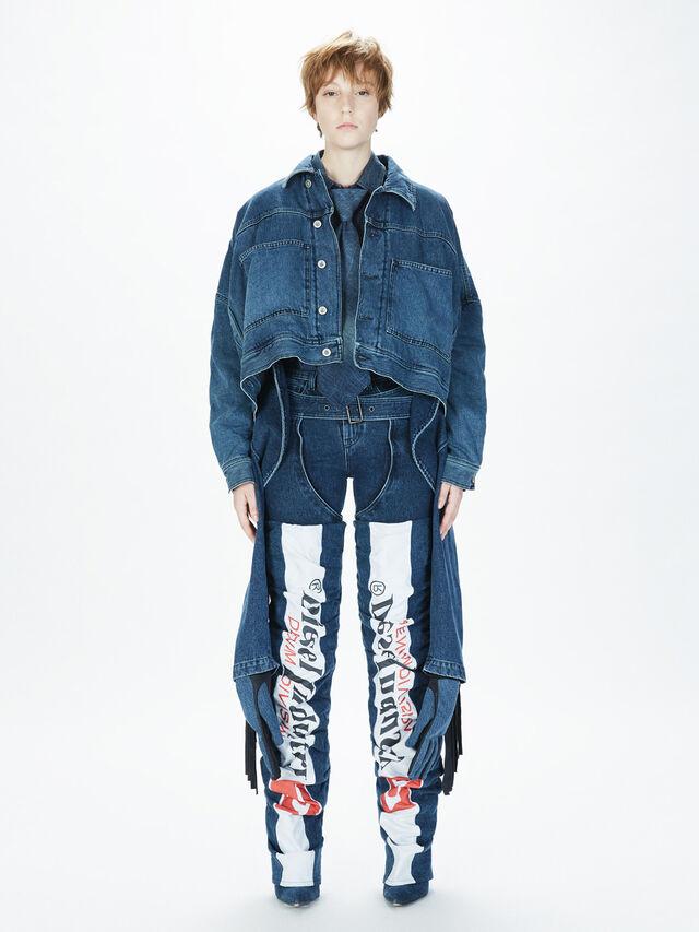 Diesel - SOCSJ01, Bleu Foncé - Pantalons - Image 8