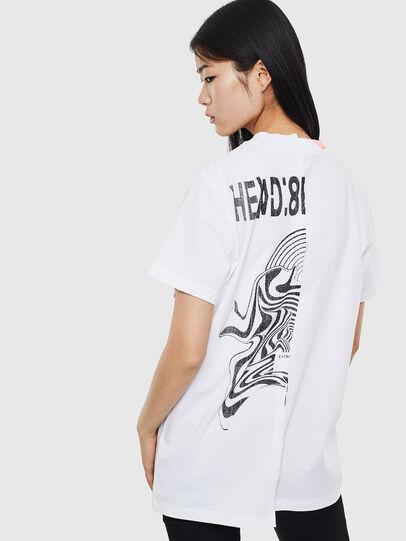 Diesel - T-GOMEZ, Blanc - T-Shirts - Image 2