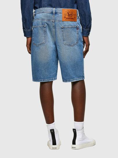 Diesel - D-STRUKT-SHORT, Bleu Clair - Shorts - Image 2