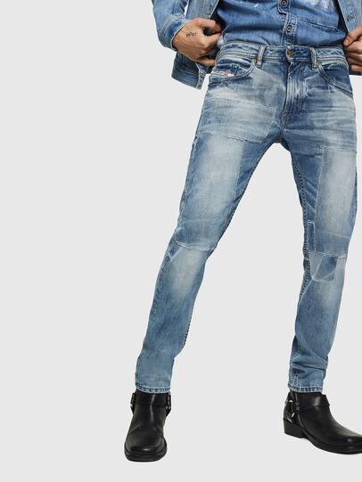Diesel - Thommer 0092F, Bleu Clair - Jeans - Image 1
