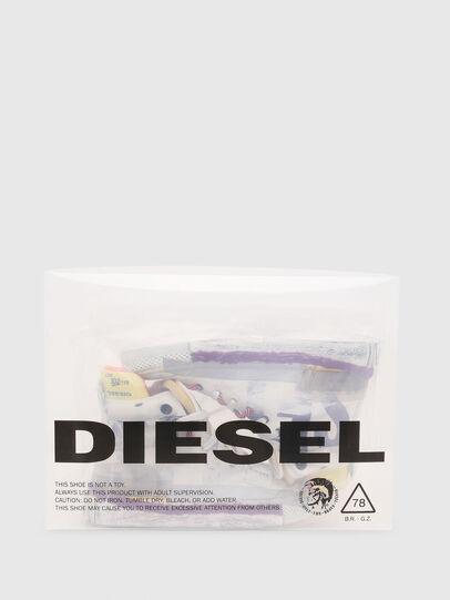 Diesel - S-ASTICO PNT W, Blanc/Rose - Baskets - Image 6