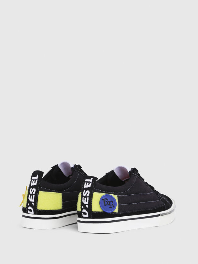 Diesel - D-VELOWS LOW PATCH W, Noir - Baskets - Image 3