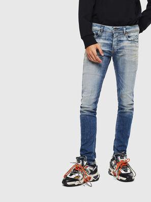 Sleenker 009AF, Bleu moyen - Jeans