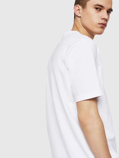 Diesel - T-JUST-POCKET-COPY, Blanc - T-Shirts - Image 2