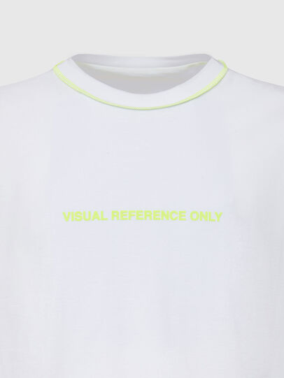 Diesel - T-JUSEAM, Blanc - T-Shirts - Image 3