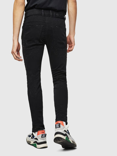 Diesel - Krooley JoggJeans 0092N, Noir/Gris foncé - Jeans - Image 2