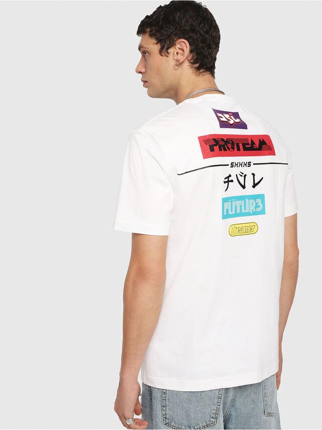 Diesel - T-JUST-YA, Blanc - T-Shirts - Image 2