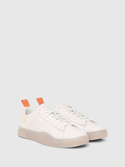 Diesel - S-CLEVER LOW LACE, Blanc - Baskets - Image 2