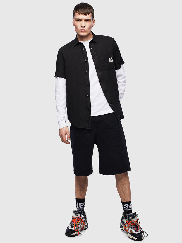 S-KIRUMA-B, Noir - Chemises
