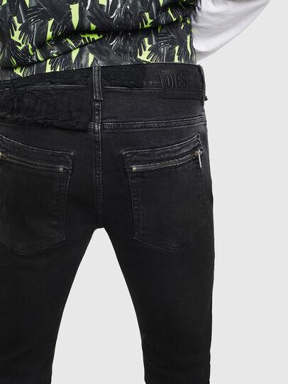Diesel - D-Amny 009CE, Noir/Gris foncé - Jeans - Image 4