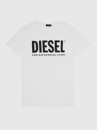 Diesel - T-DIEGO-LOGO, Blanc - T-Shirts - Image 1