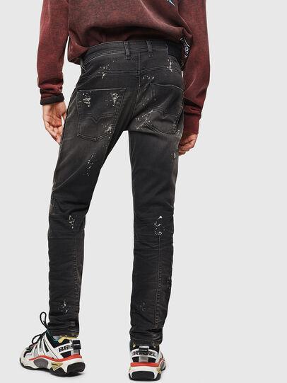Diesel - Krooley JoggJeans 084AE, Noir/Gris foncé - Jeans - Image 2