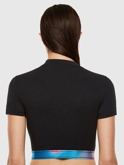 Diesel - UFTEE-GIORGI-SV-ML, Noir - T-Shirts - Image 2