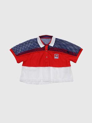 TVAITEA, Rouge/Blanc - T-shirts et Hauts