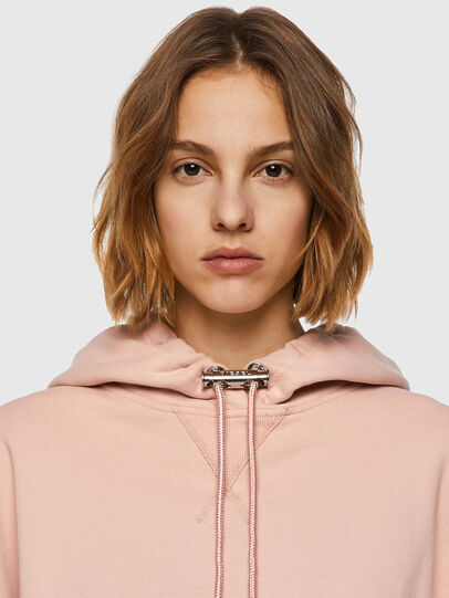 Diesel - F-BELTY, Rose Poudré - Pull Cotton - Image 3