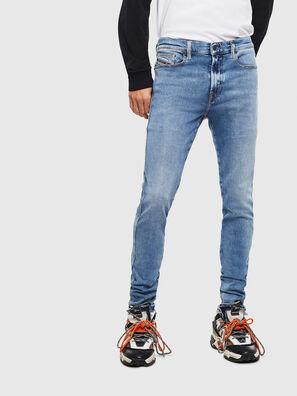 D-Istort 009BG, Bleu moyen - Jeans