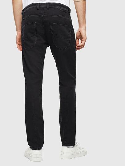 Diesel - Krooley JoggJeans 0687Z, Noir/Gris foncé - Jeans - Image 2
