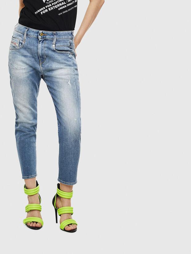 Fayza 0099M, Bleu moyen - Jeans