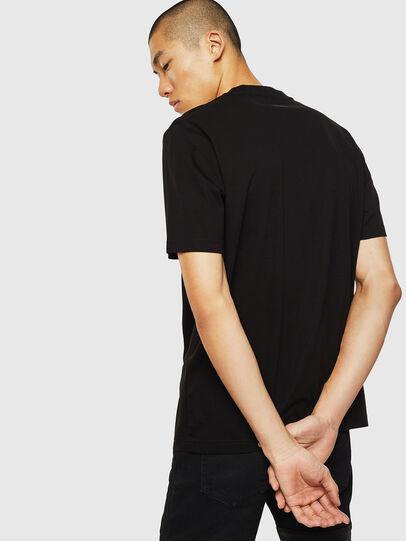 Diesel - T-JUST-J10, Noir - T-Shirts - Image 2