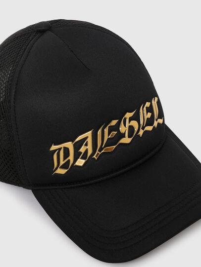 Diesel - C-TRUC, Noir - Chapeaux - Image 3