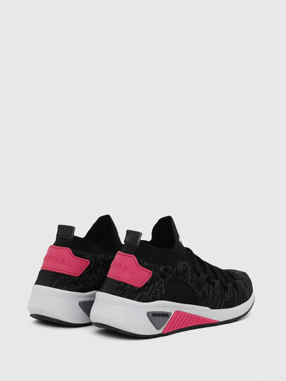 Diesel - S-KB ATHL LACE W, Noir/Rose - Baskets - Image 3