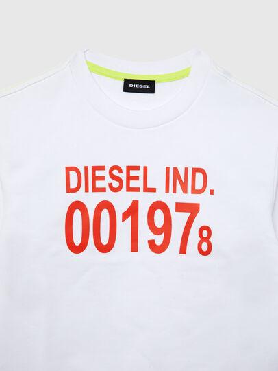 Diesel - SGIRKJ3 OVER, Blanc - Pull Cotton - Image 2