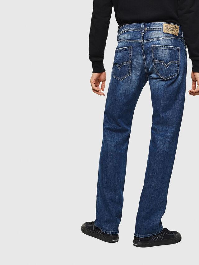 Diesel - Larkee 008XR, Bleu Foncé - Jeans - Image 2