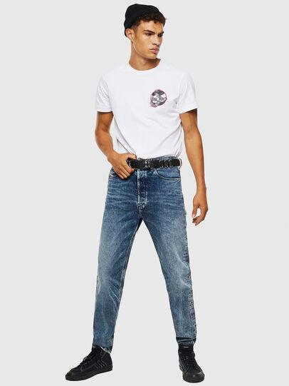 Diesel - D-Macs 0097G, Bleu moyen - Jeans - Image 6