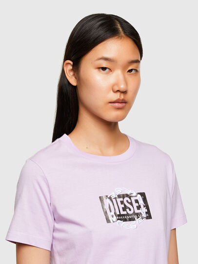 Diesel - T-SILY-R5, Lilas - T-Shirts - Image 3