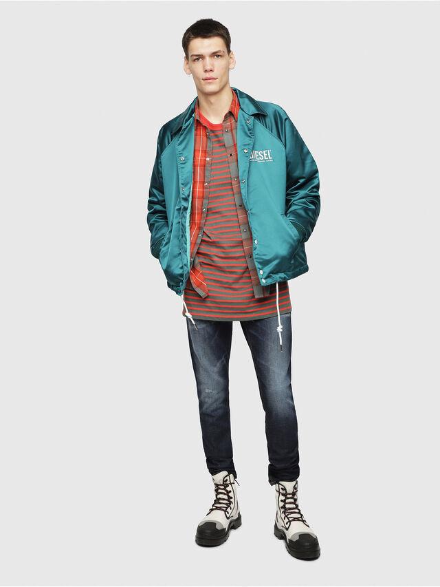 Diesel - Thommer 087AN, Bleu Foncé - Jeans - Image 4