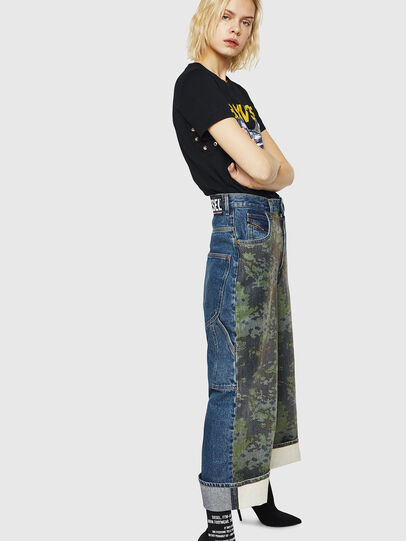 Diesel - D-Luite 0078E, Bleu moyen - Jeans - Image 5