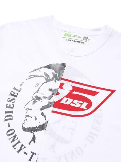 Diesel - D-MESO&MESO, Blanc - T-Shirts - Image 2